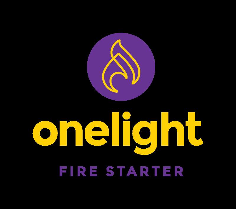 OneLight fire starter